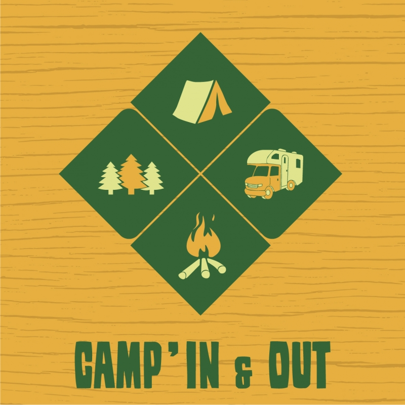 CAMP'IN & OUT